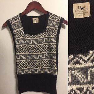 Alpaca Wool Sweater Vest